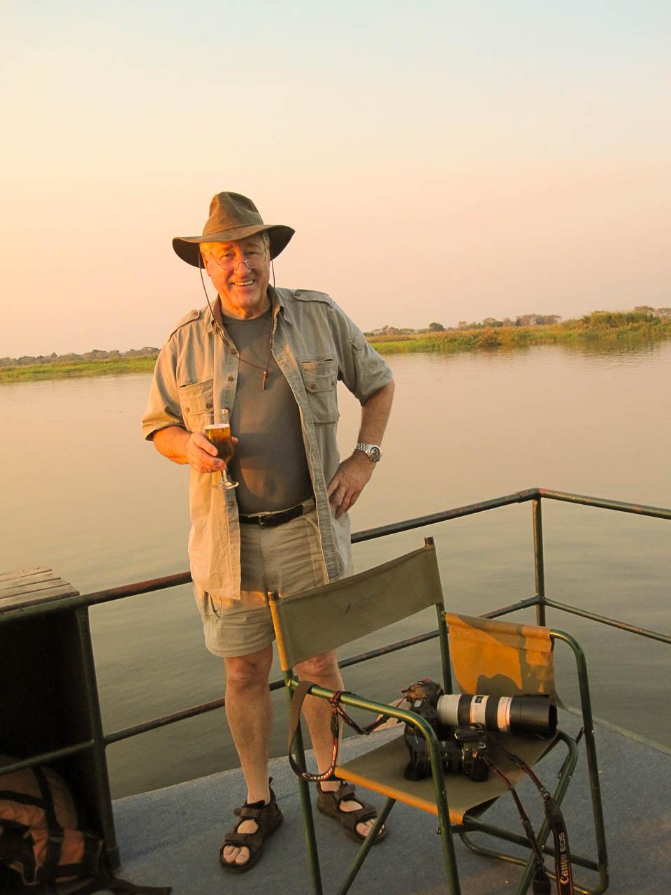 portrait of safari bill